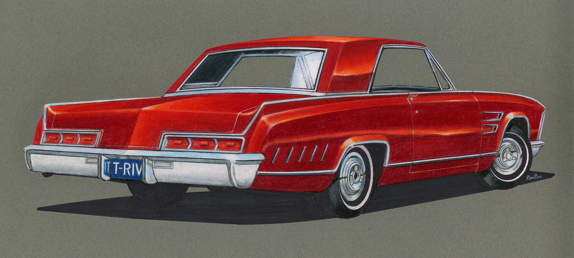 1963 Buick Riviera by Ford