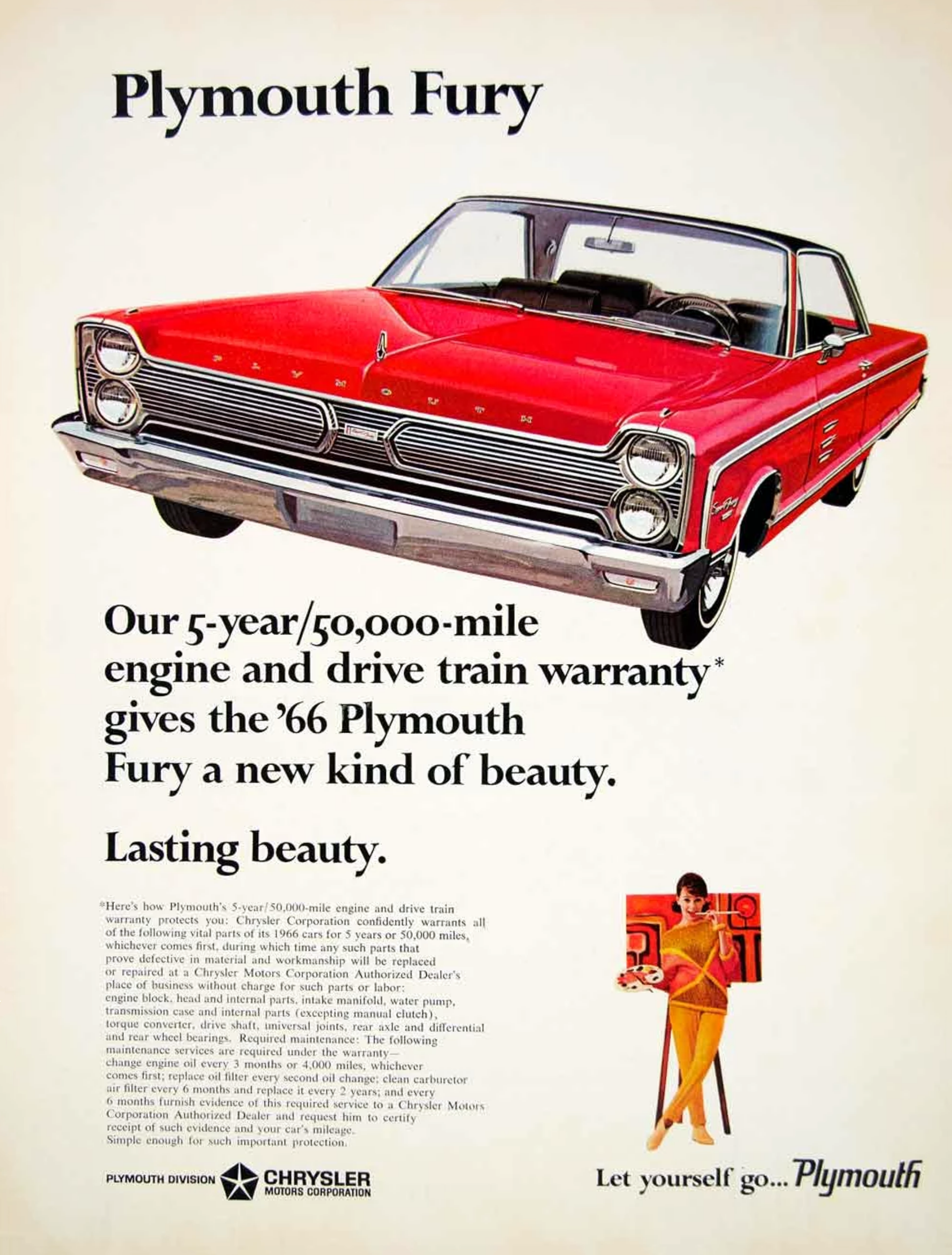 Classic Plymouth Ads