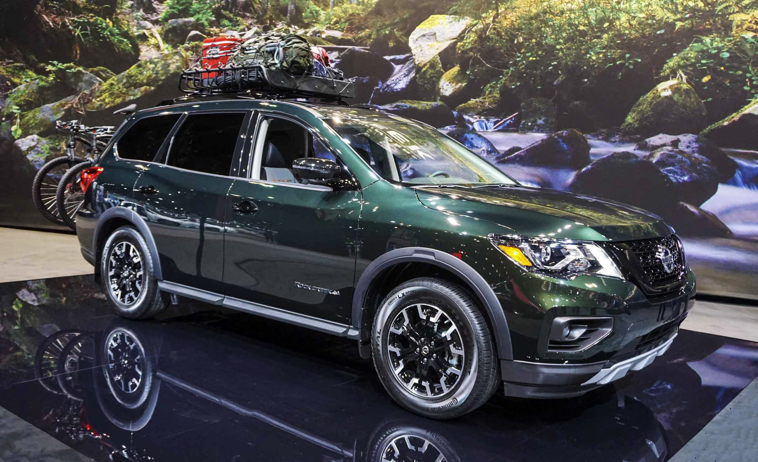 2019 Nissan Pathfinder Rock Creek at the 2019 Chicago Auto Show