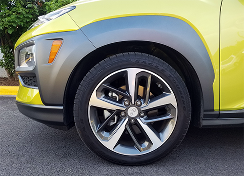 Hyundai Kona Wheels