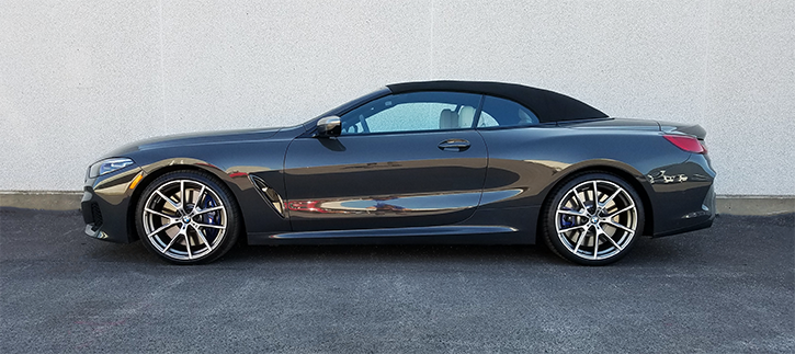 BMW 8-Series Convertible, Top Up