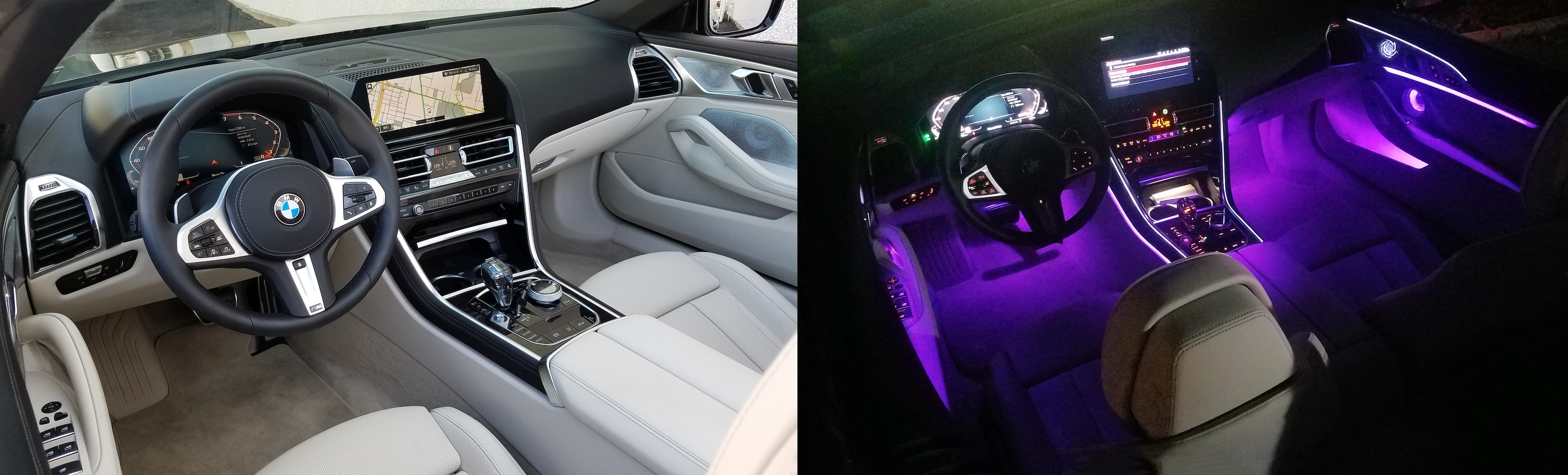 BMW 8-Series Cabin Lighting