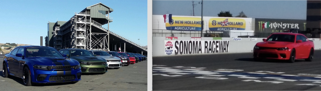 2020 Dodge Charger at Sonoma Raceway