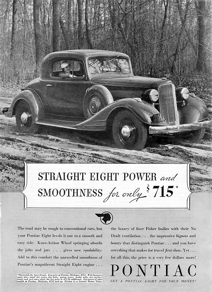 Depression Era Car Ads