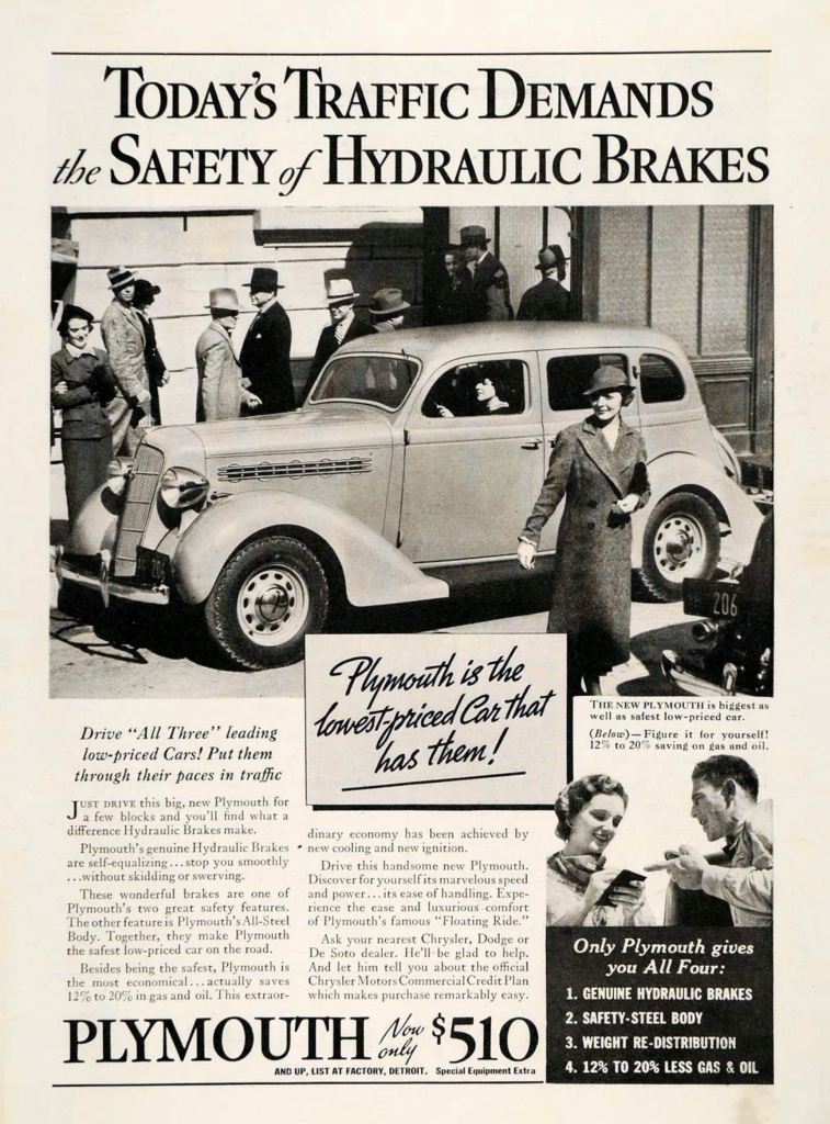 Depression Era Car Ad