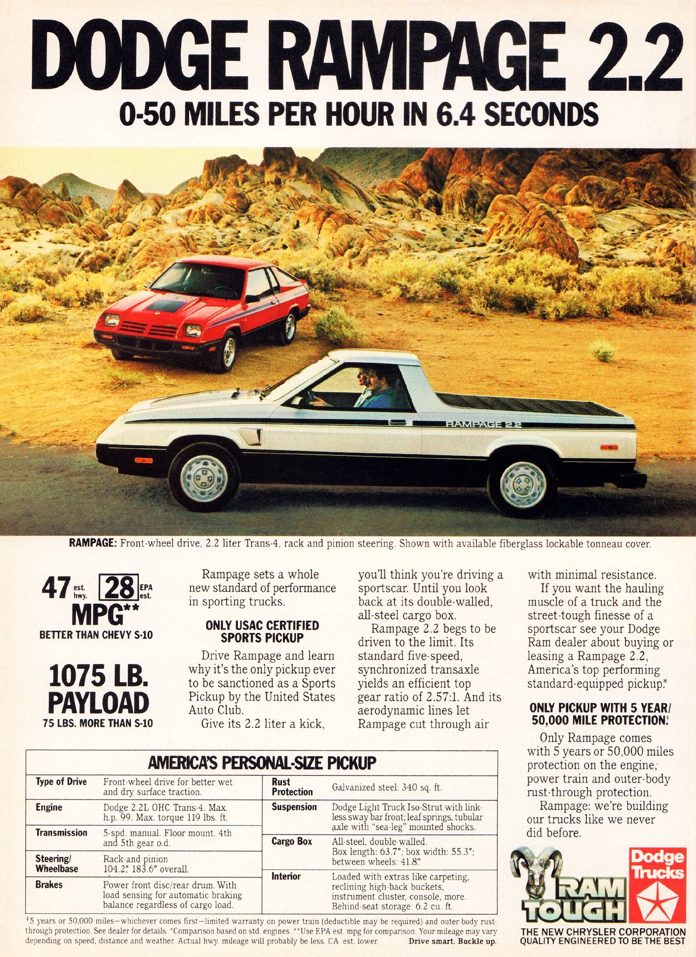 1983 Dodge Rampage