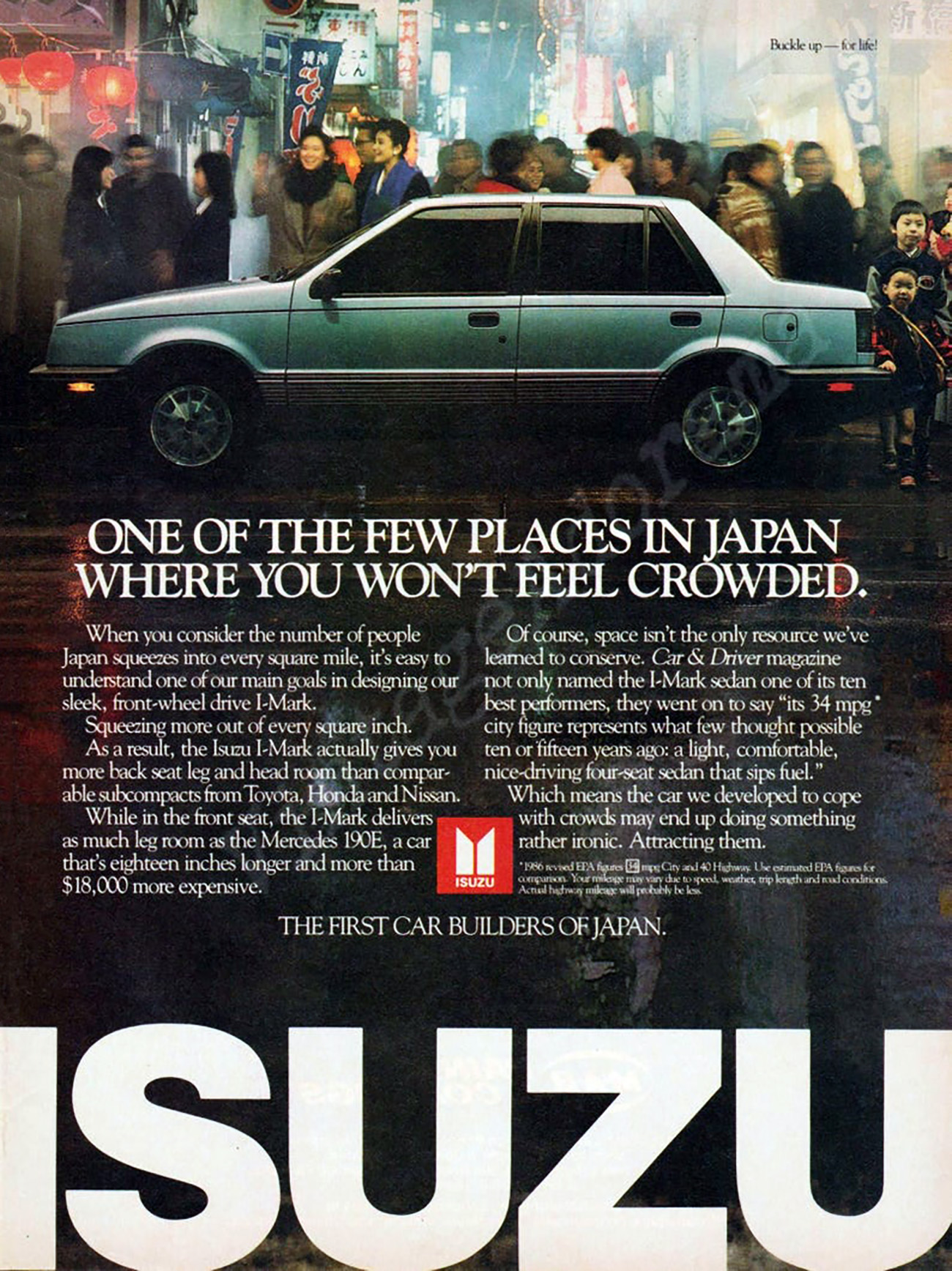 1986 Isuzu i-Mark