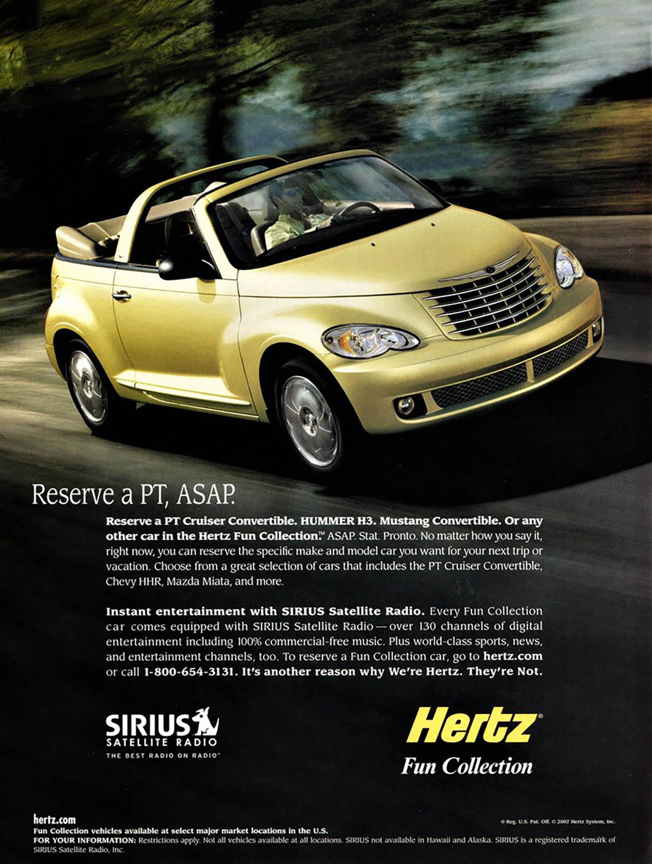 2007 Hertz Ad