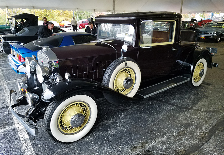 1931 LaSalle 345 Series coupe