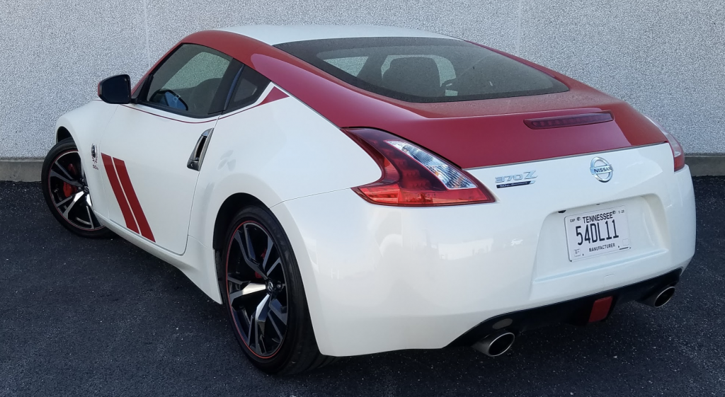 2020 Nissan 370Z 50th Anniversary, 370Z 50th Anniversary Edition