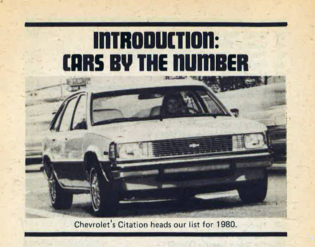 1980 Chevrolet Citation Review