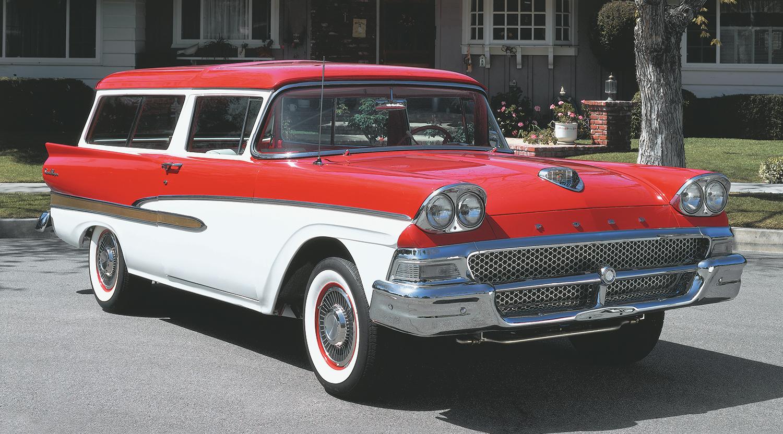 1958 Ford Del Rio Ranch Wagon