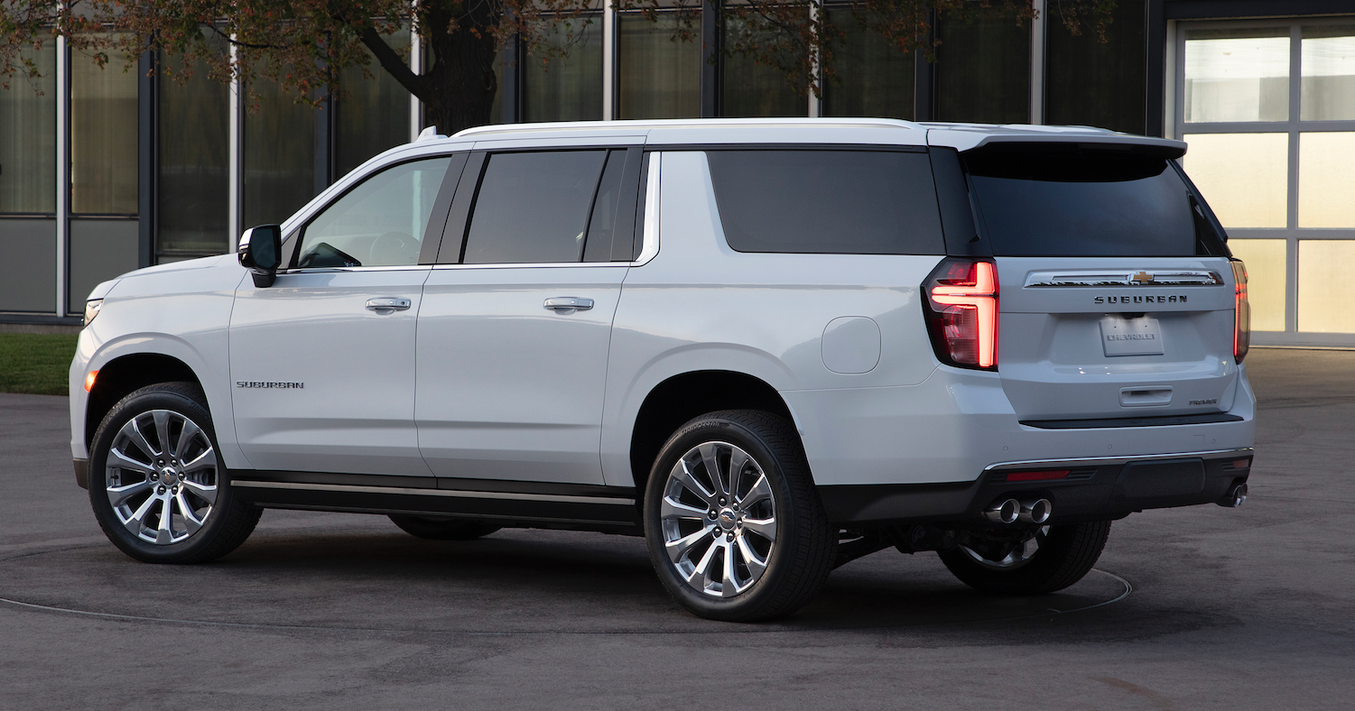 first look 2021 chevrolet tahoe and suburban  the daily