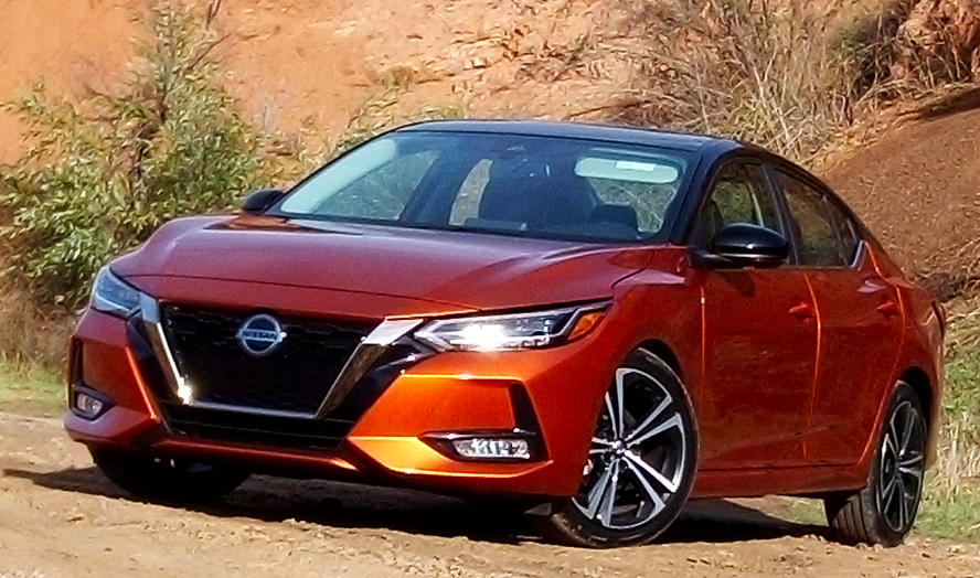 2020 Nissan Sentra, 2020 Sentra, Monarch Orange