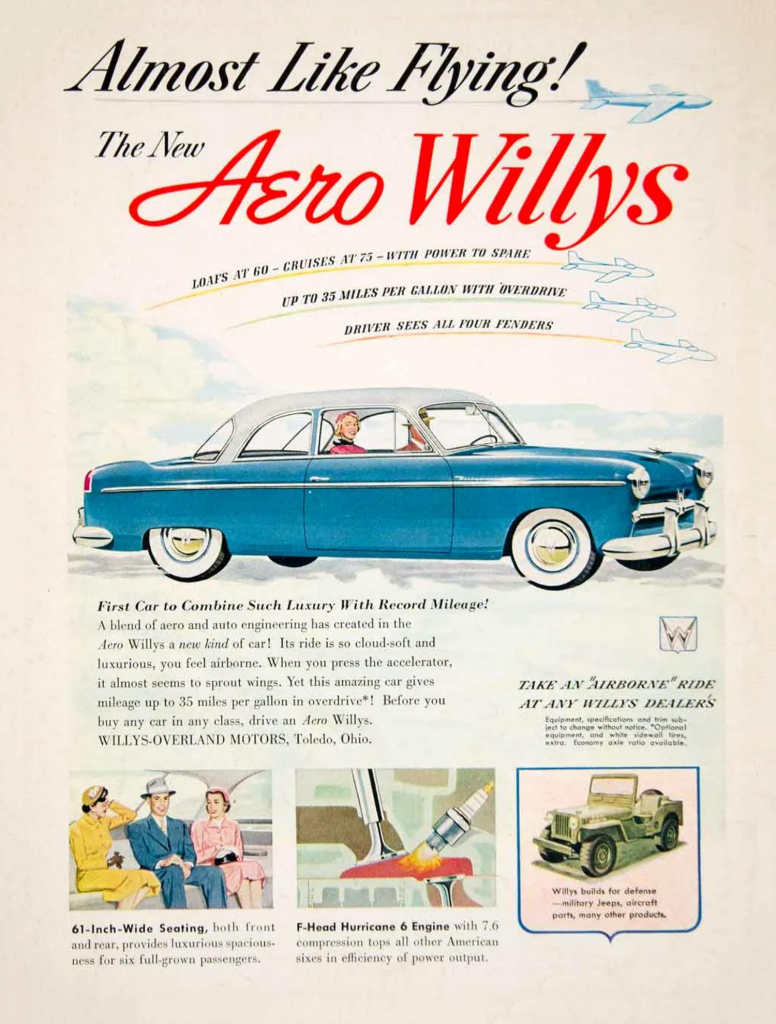 1952 Willys Ad