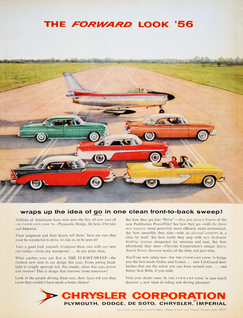1956 Chrysler Corporate Ad