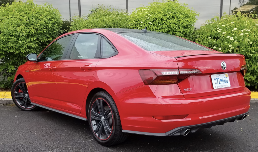 2019 Volkswagen Jetta GLI 35th Anniversary Edition, Tornado Red