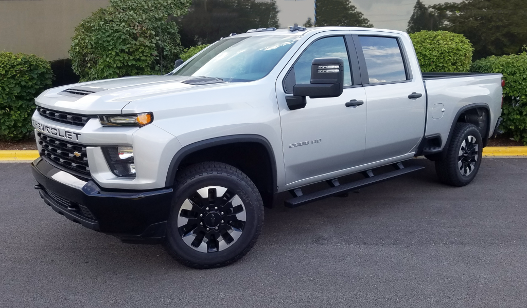 Test Drive: 2020 Chevrolet Silverado 2500 | The Daily ...