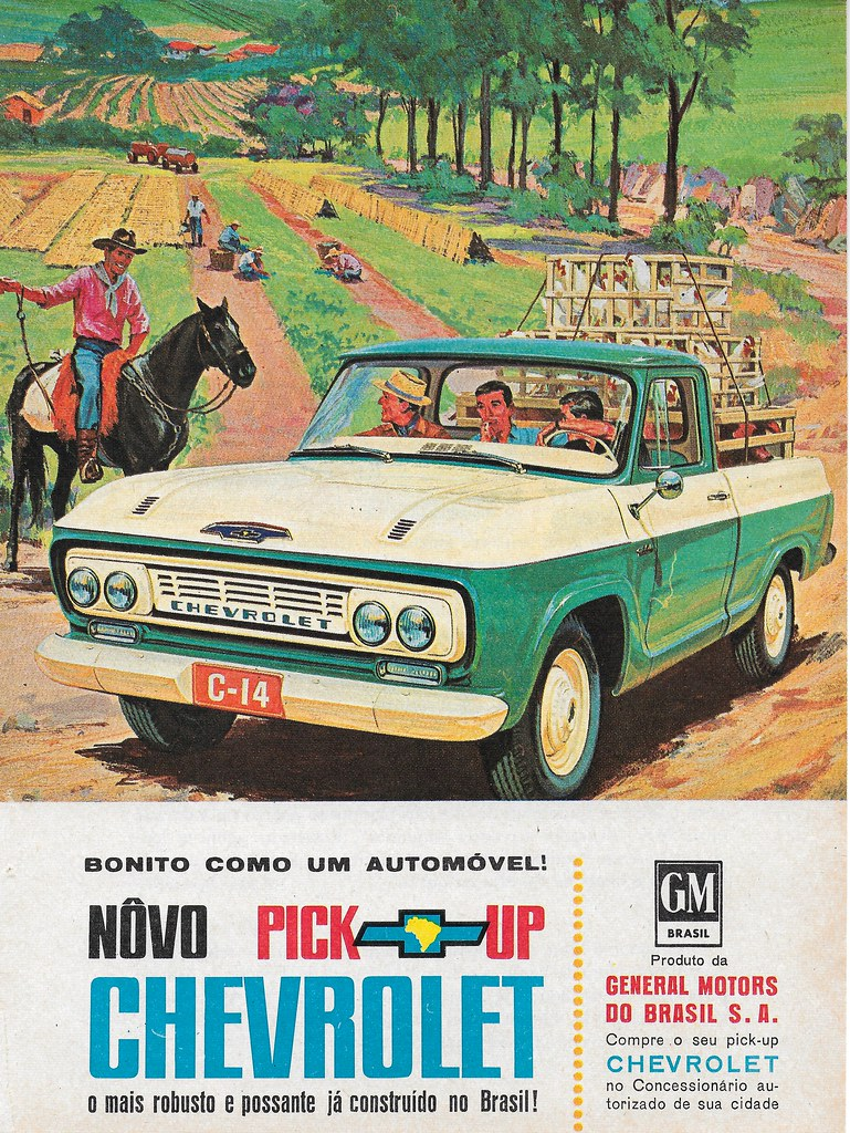 1964 Chevrolet Ad (Brazil) , General Motors Do Brasil