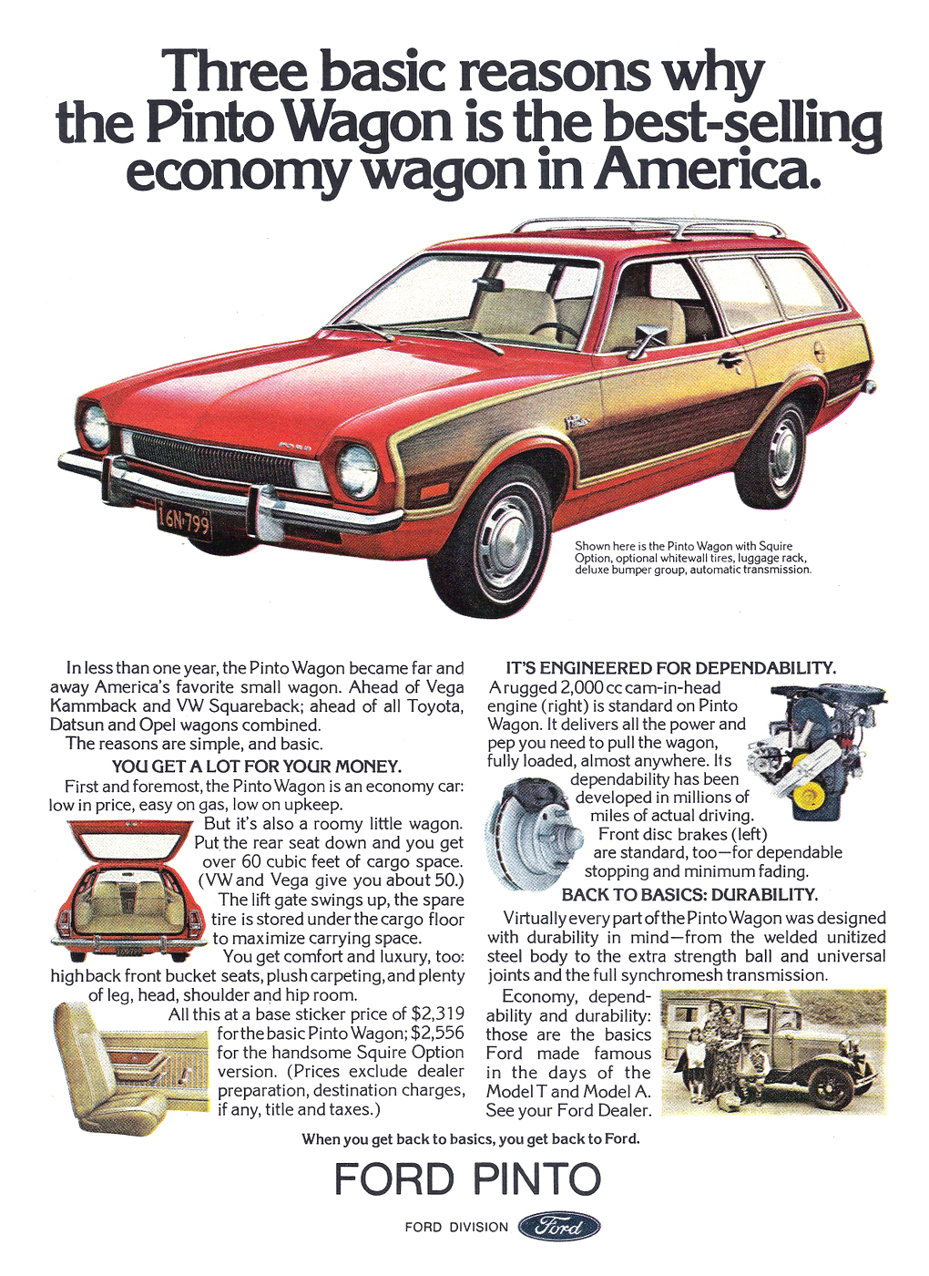 1973 Ford Pinto Squire