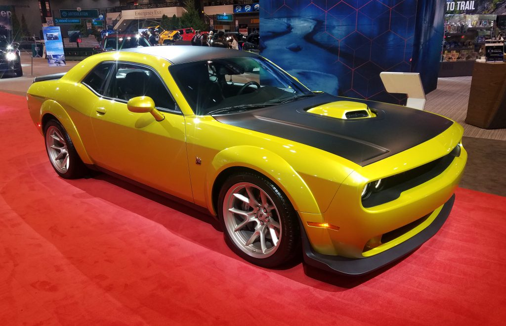 2020 Dodge Challenger in Gold Rush