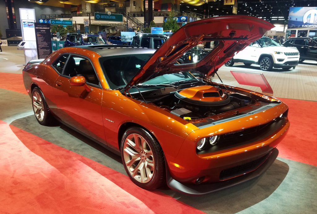 2020 Dodge Challenger in Sinamon Stick