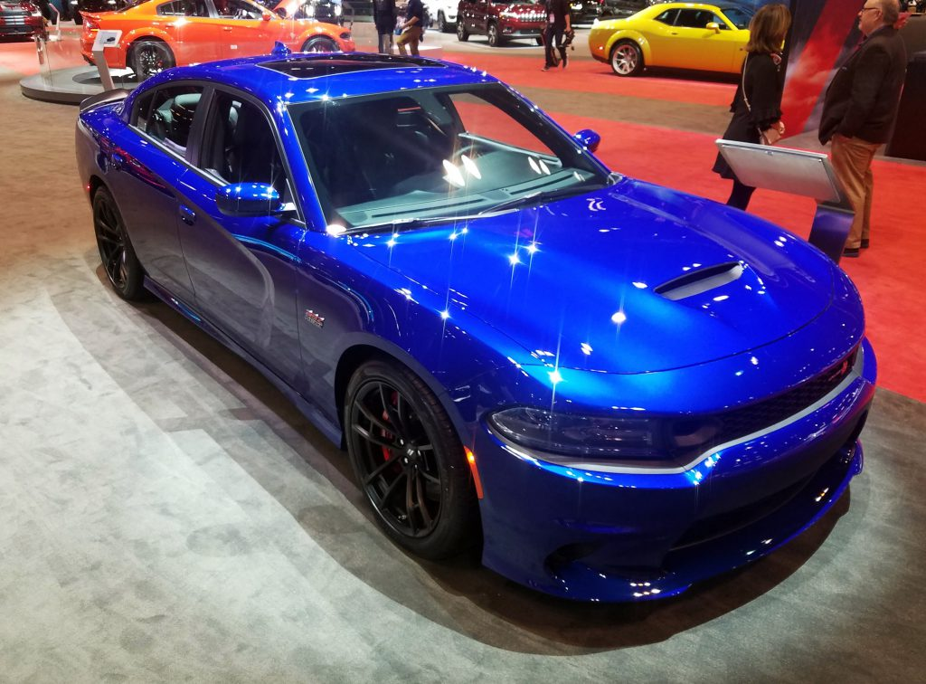 2020 Dodge Charger in Indigo Blue