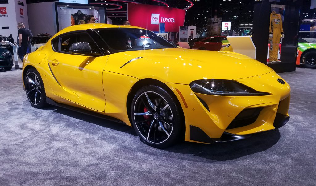 2020 Supra in Nitro Yellow