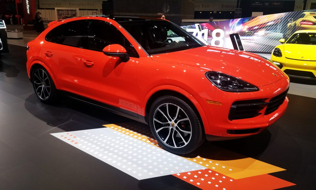 2020 Porsche Cayenne Coupe in Lava Orange