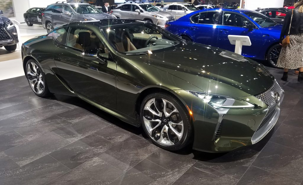 2020 Lexus LC 500 Inspiration Series in Nori Green