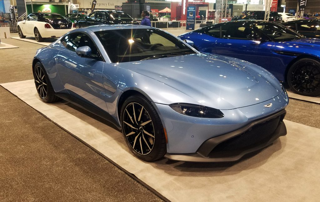 2020 Aston Martin Vantage in Concours Blue