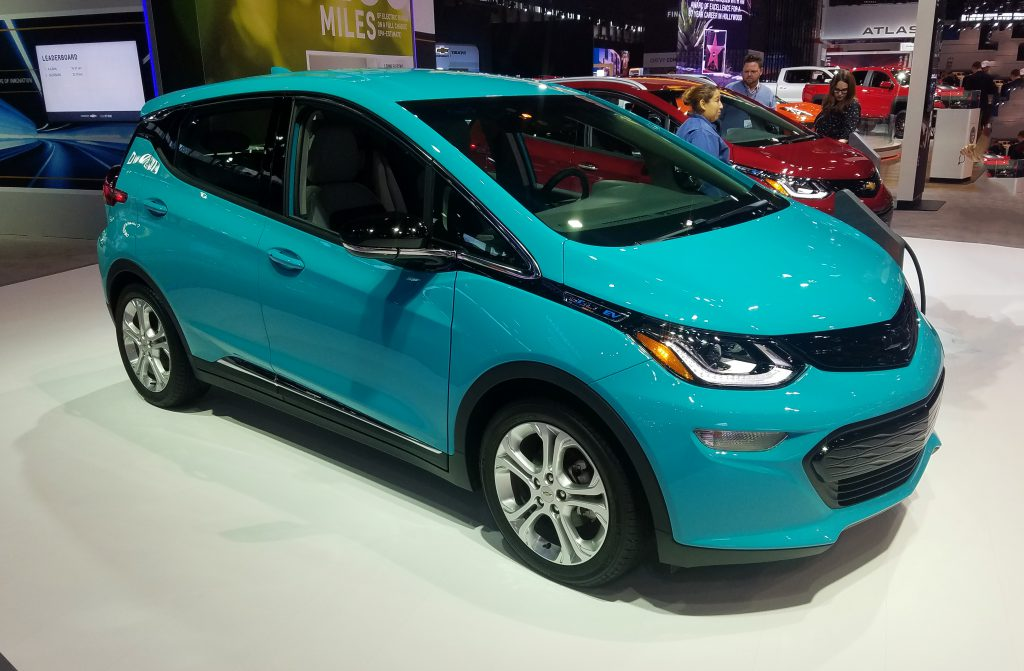 2020 Chevrolet Bolt EV in Oasis Blue