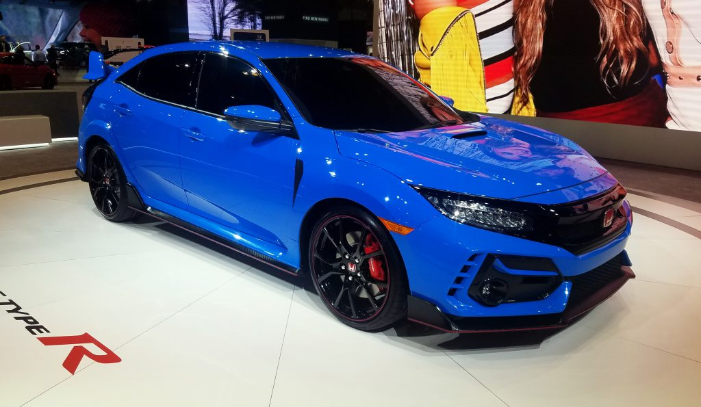 2020 Honda Civic Type R in Boost Blue