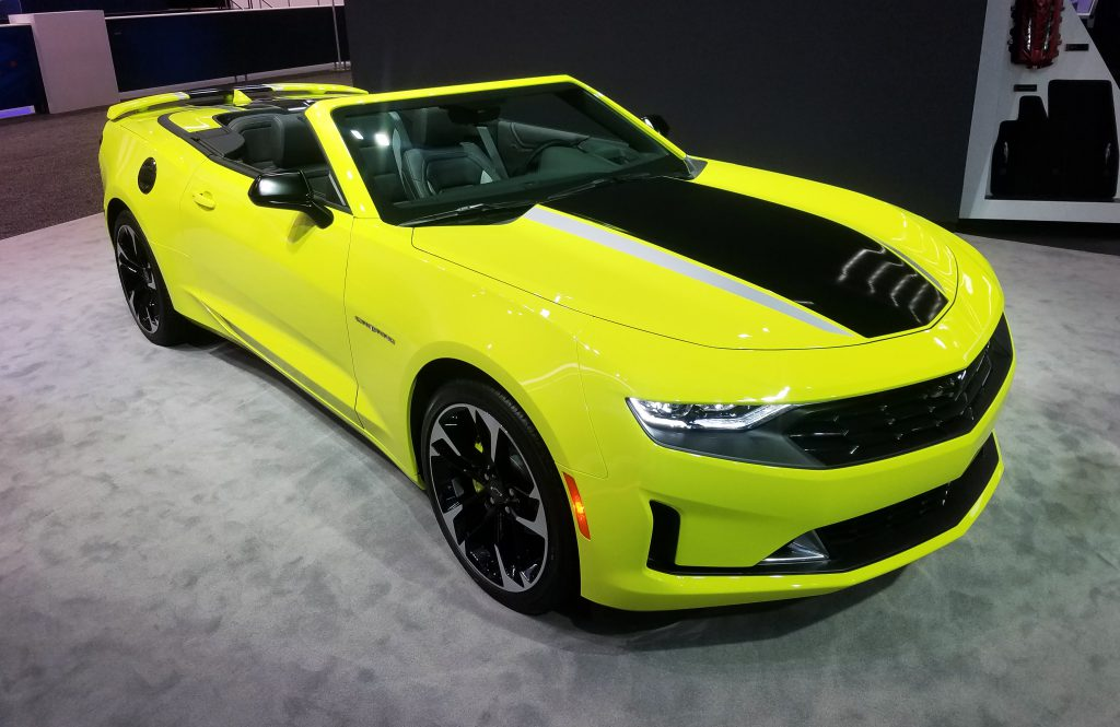2020 Chevrolet Camaro in Shock