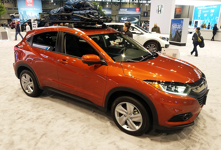 2020 Honda HR-V in Orangeburst Metallic