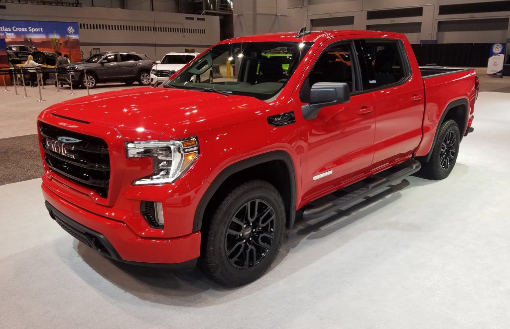 2020 GMC Sierra in Cardinal Red