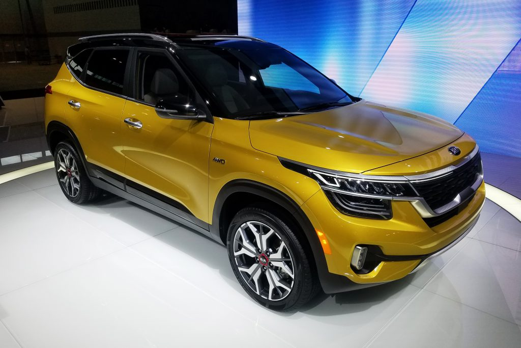 2020 Kia Seltos in Starbright Yellow