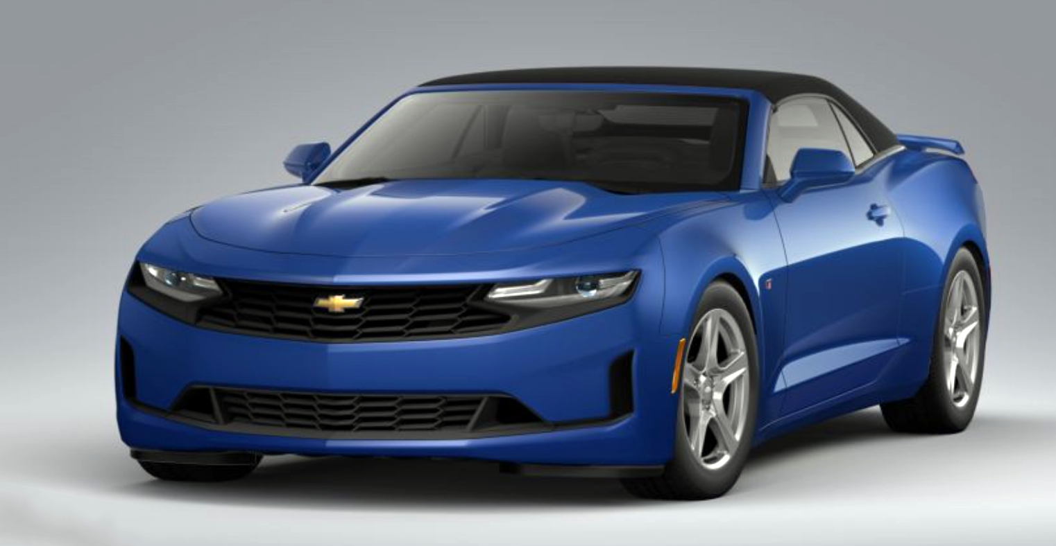2020 Chevrolet Camaro 3LT in Riverside Blue