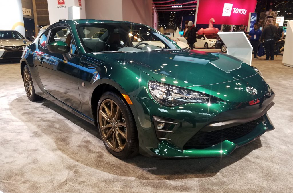 2020 Toyota 86 Hakone Edition in Hakone Green