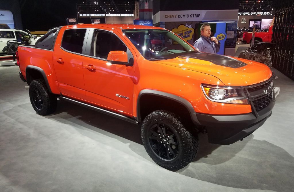 2020 Chevrolet Colorado ZR2 in Crush