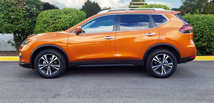 2020 Rogue in Monarch Orange