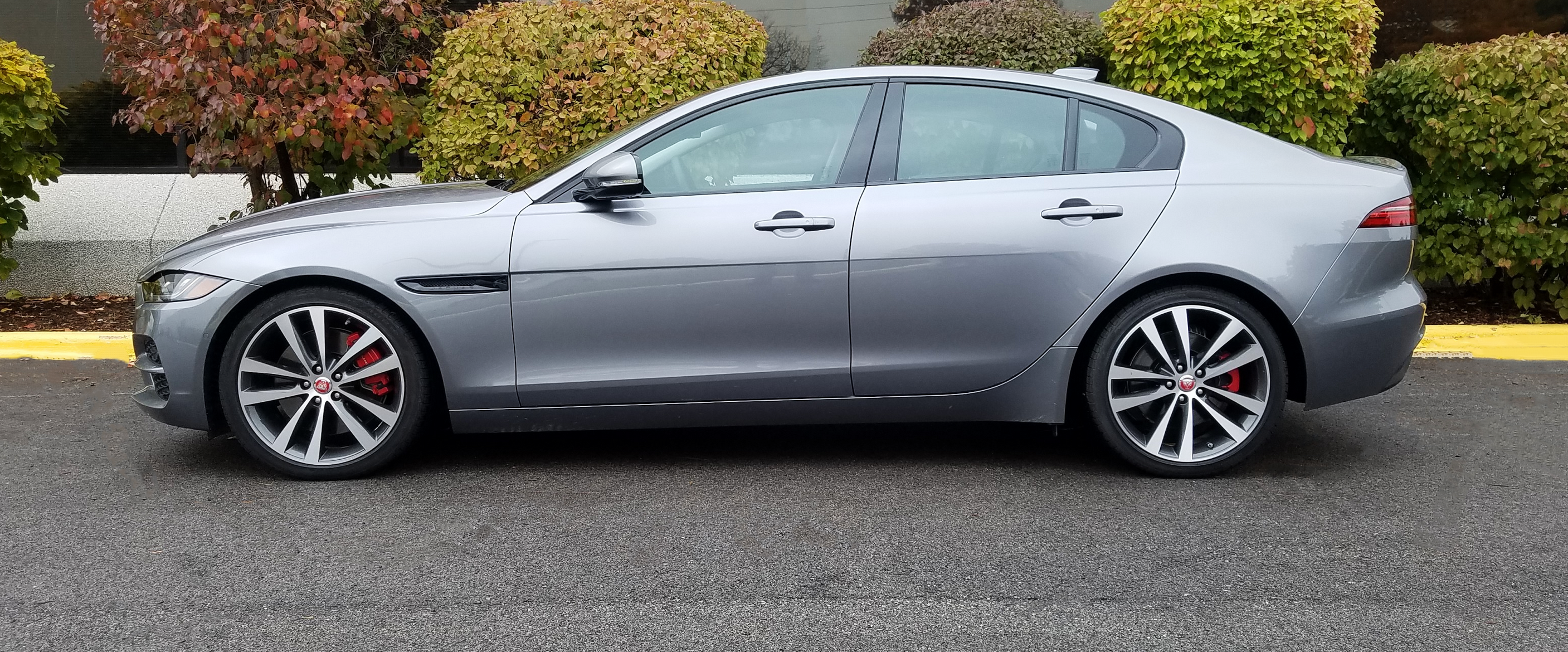 2020 Jaguar XE in Eiger Grey