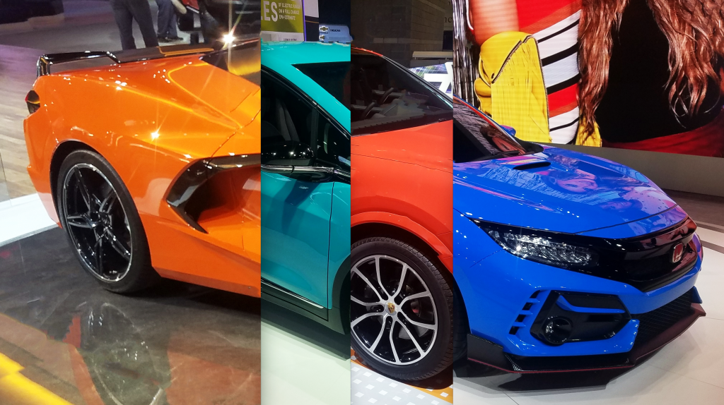 Local Color: Unusual Paint Hues at the 2020 Chicago Auto Show