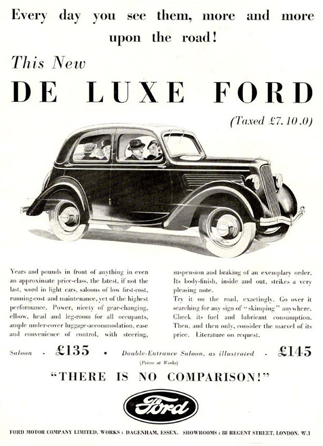 1935 Ford Ad (England)