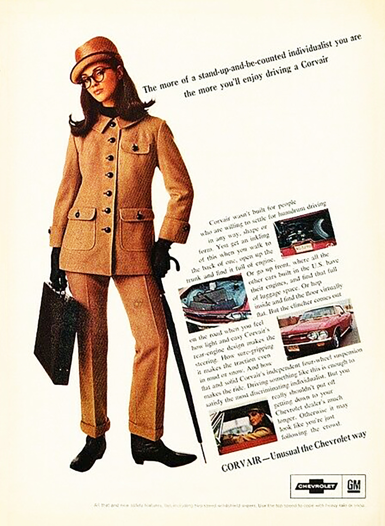 1966 Chevrolet Corvair Ad