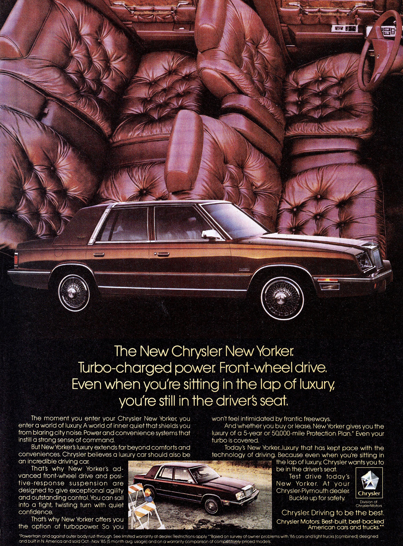1987 Chrysler New Yorker Ad