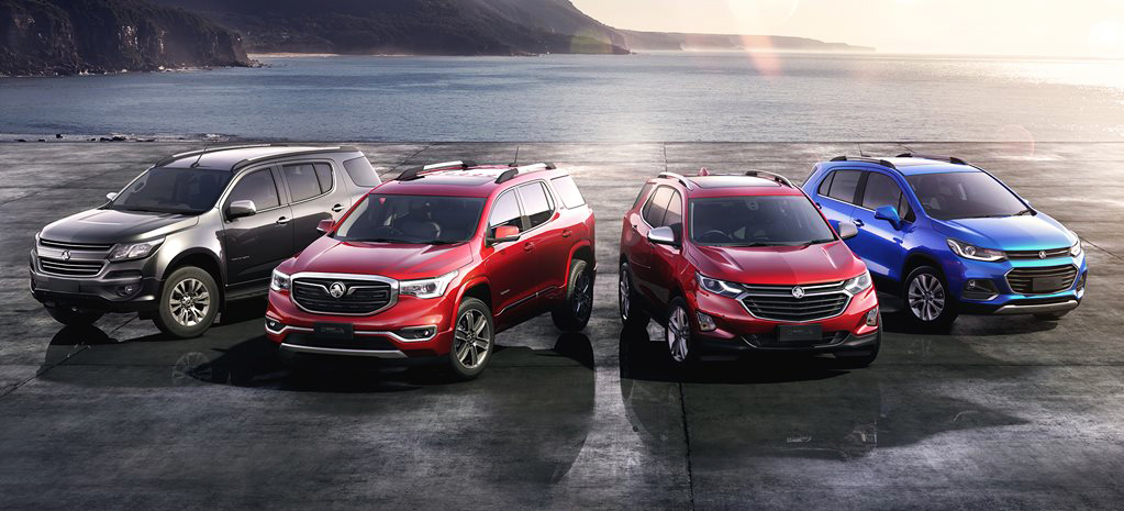 Holden crossover and SUV lineup., Last Holdens,
