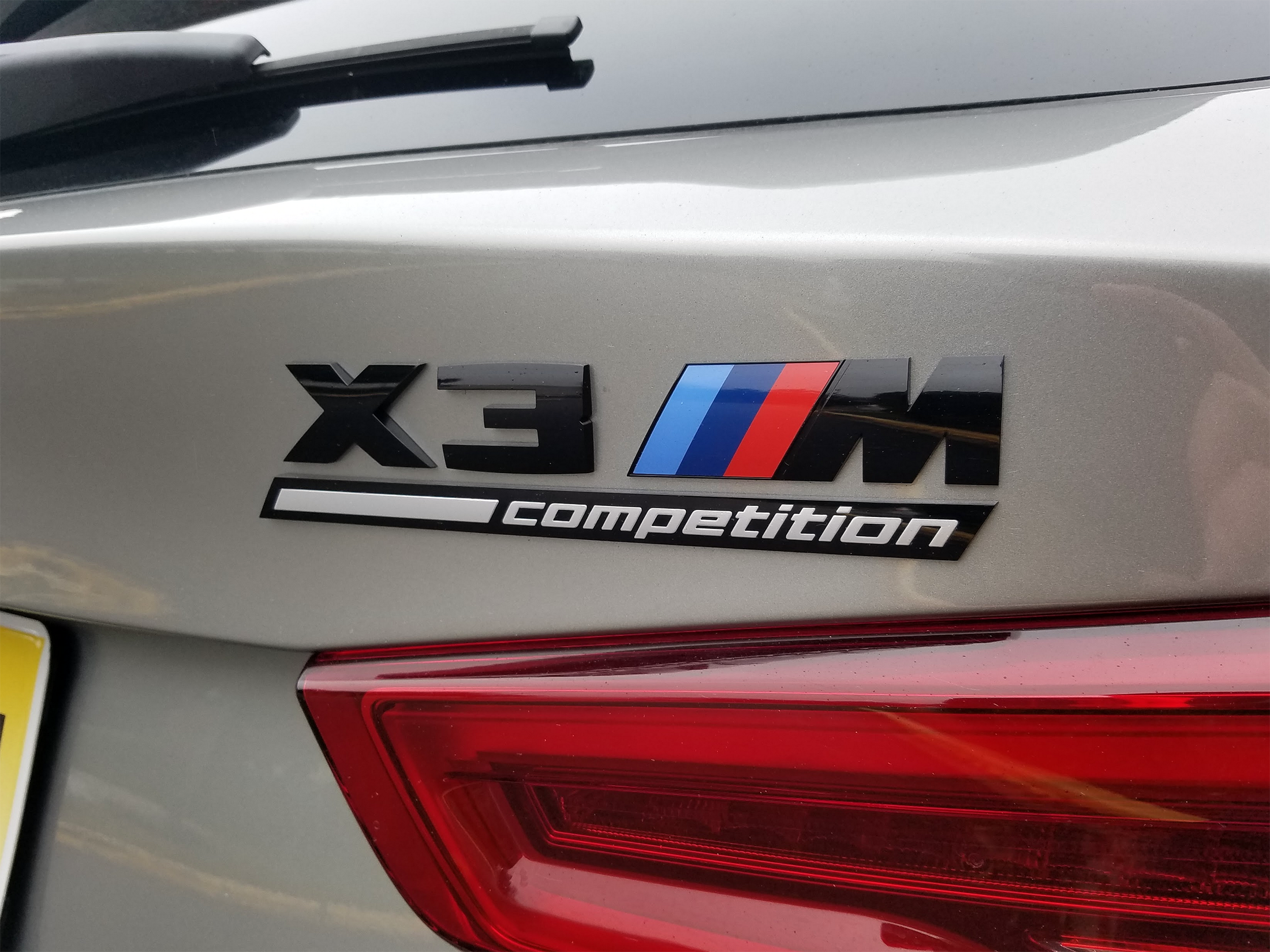 BMW X3 Xompetition Badge
