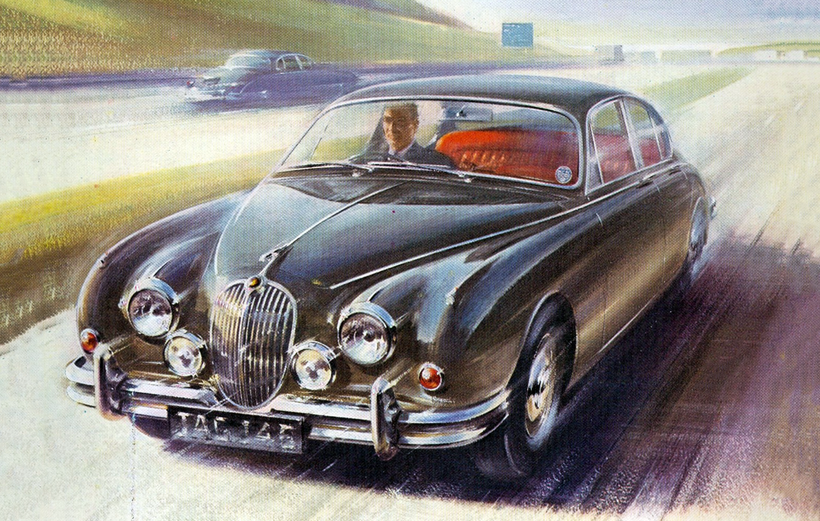 1960 Jaguar, Cars in Motion