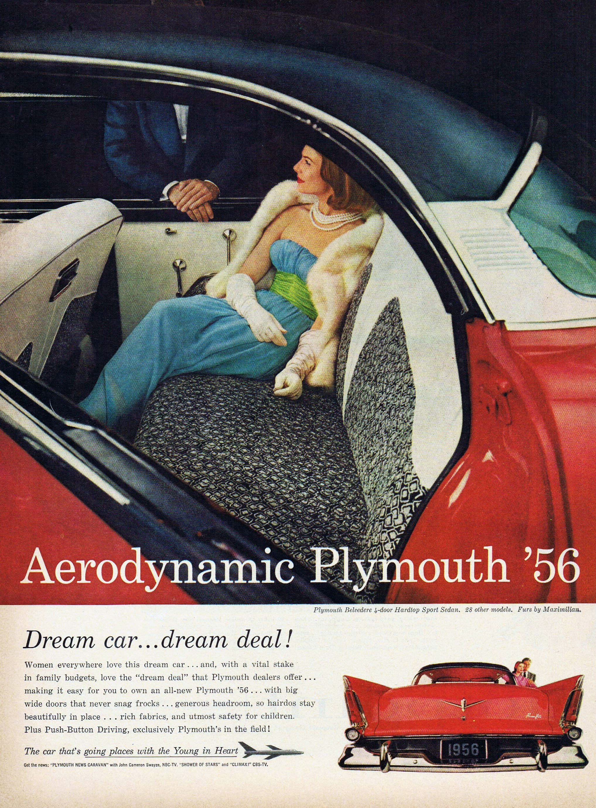 1956 Plymouth Ad